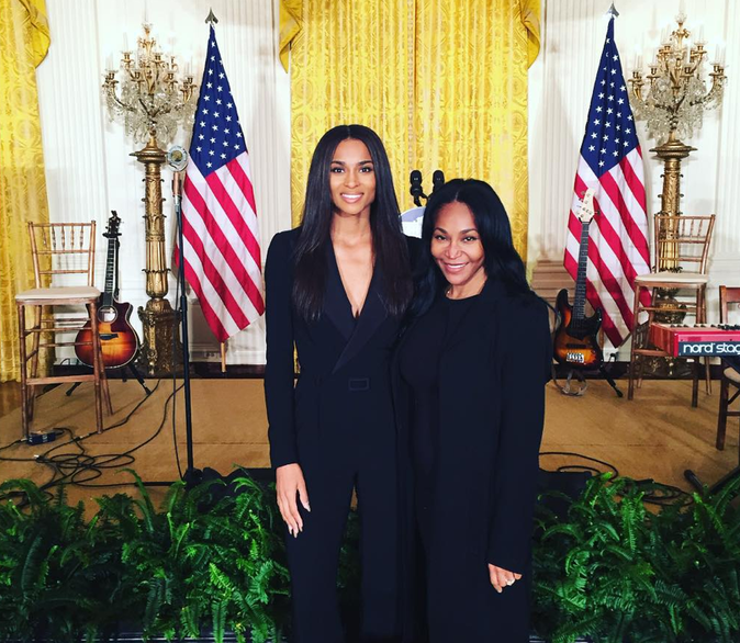 Photos : Ciara : Michelle Obama a besoin d'elle !