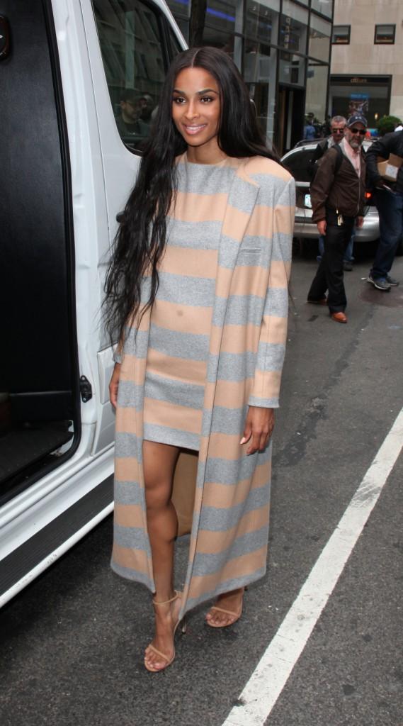 Photos : Ciara n'a pas besoin d'un homme pour assurer !