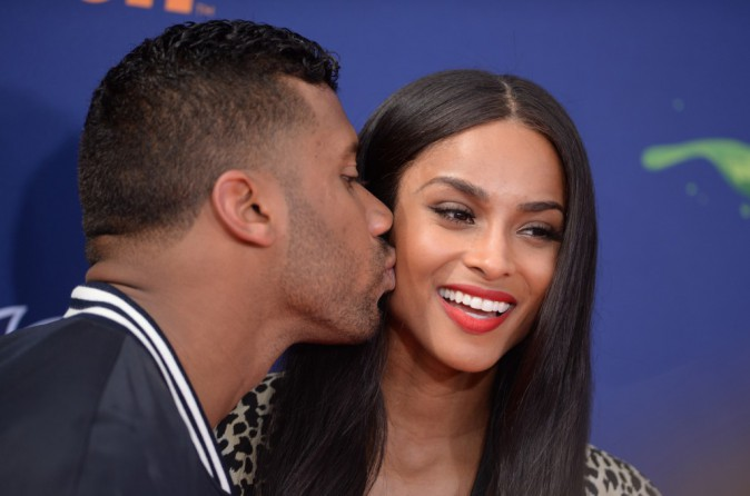Ciara et Russell Wilson le 16 juillet 2015