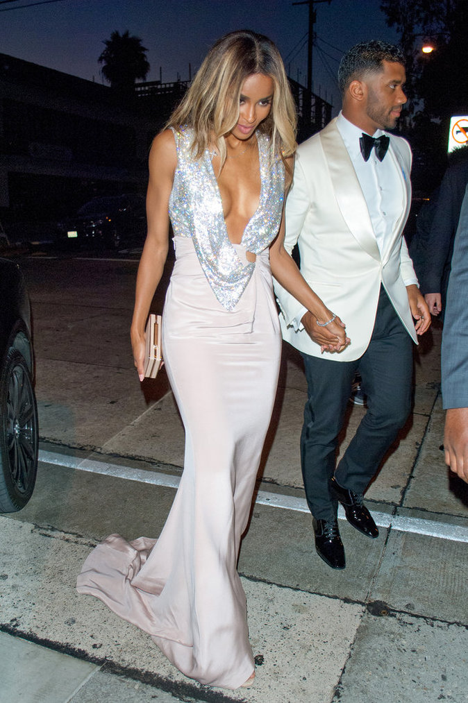 Ciara et Russell Wilson à Los Angeles le 13 juillet 2016