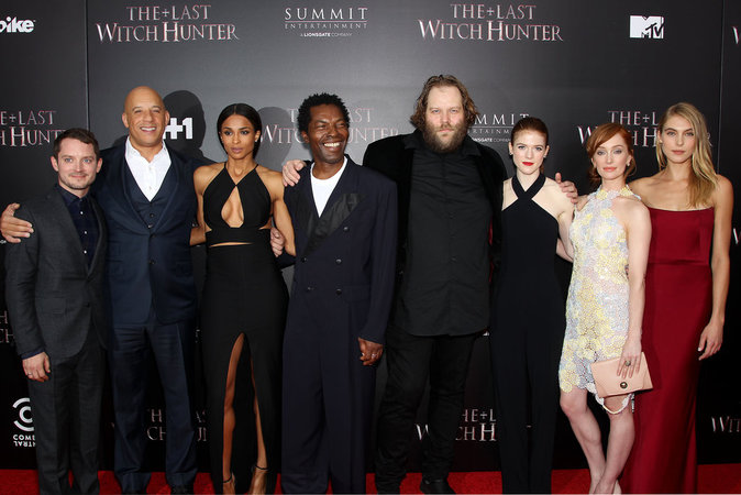 """Le casting du """"Dernier chasseur de sorcières"""" le 13 octobre 2015"""