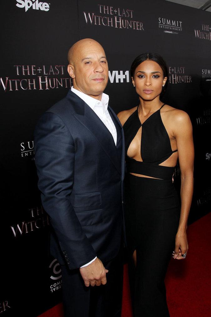 Vin Diesel et Ciara le 13 octobre 2015