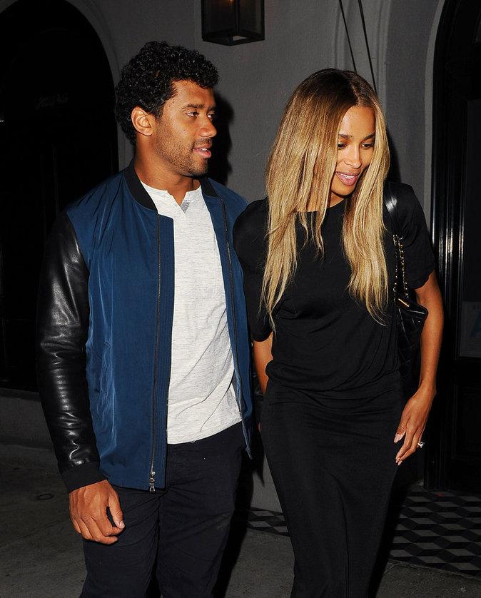 Ciara et Russell Wilson ont passé une soirée romantique ensemble