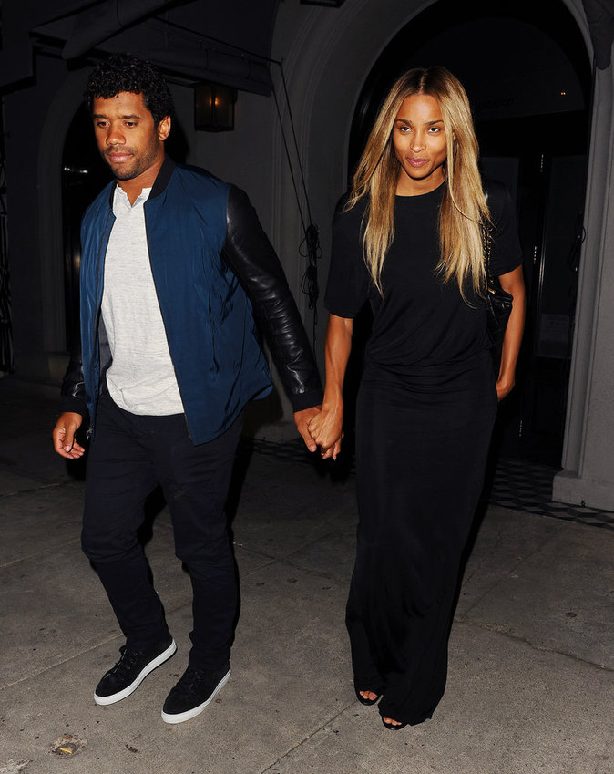 Ciara et Russell Wilson sont naturels