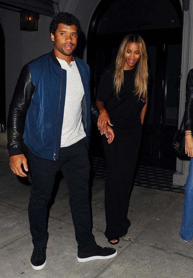 Ciara et Russell Wilson sont sublimes ensemble