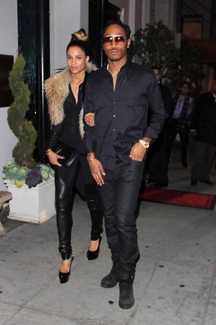 Ciara et Future à Beverly Hills, le 26 février 2013.