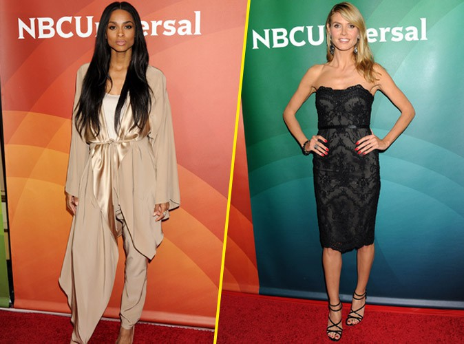 Photos : Ciara VS Heidi Klum : laquelle s'impose le plus sur le redcarpet ?
