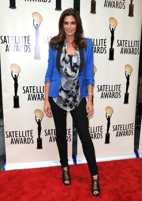 Cindy Crawford à Los Angeles, le 2 mai 2012.