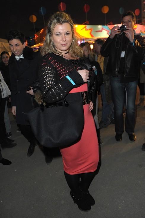 Cindy Lopes à l'inauguration de la 50 ème Foire du Trône de Paris le vendredi 29 mars 2013