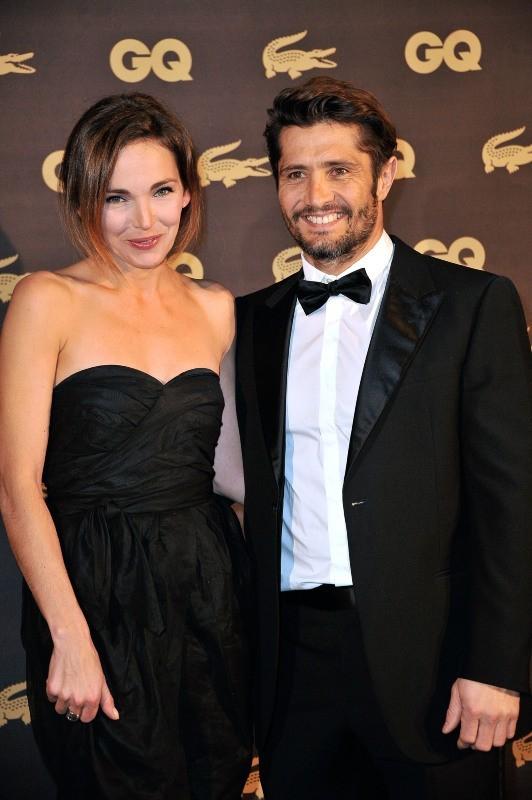 Claire Keim et Bixente Lizarazu le 16 janvier 2013 à Paris