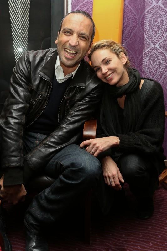 Abdel Raouf Dafri et Claire Keim lors du Festival 2 Cinéma à Valenciennes, le 18 mars 2013.