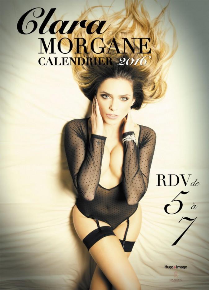Exclu Public : Photos : Clara Morgane : votez pour la couverture de son calendrier sexy 2016 !