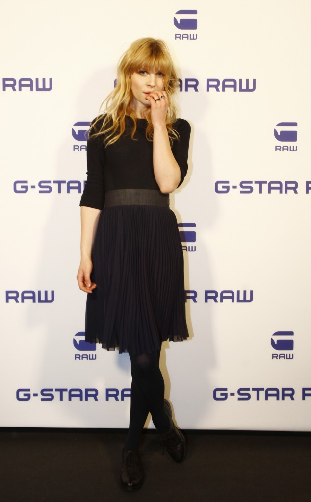 Clémence Poesy lors du défilé G-Star Raw à Berlin, le 18 janvier 2012.