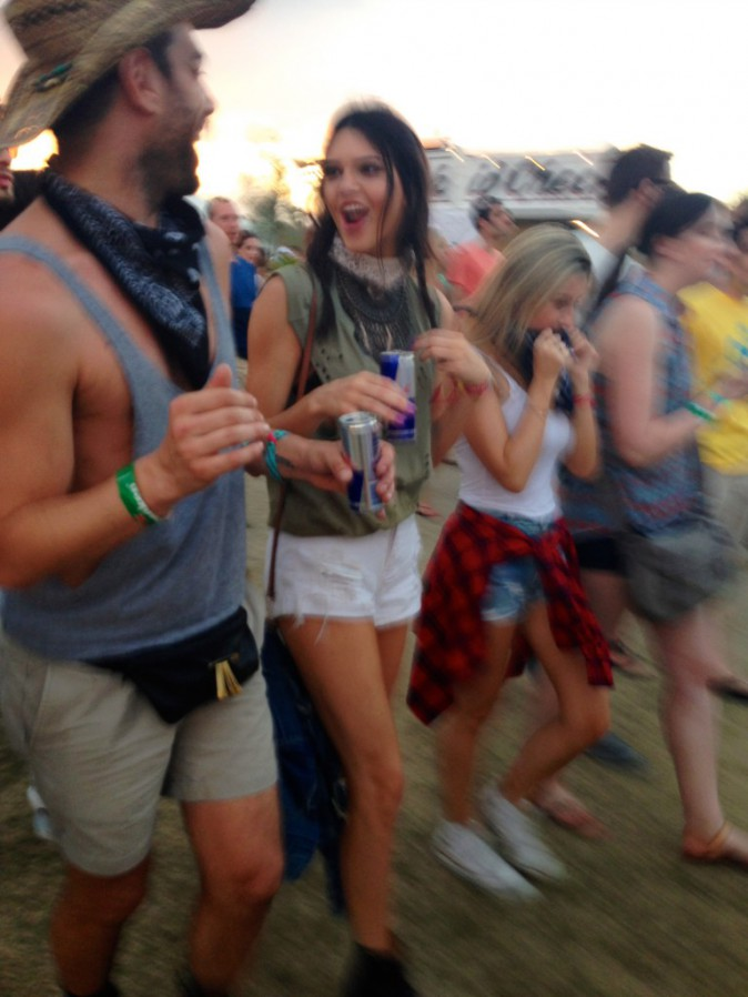 Kendall Jenner - Coachella Jour 1