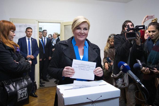 Kolinda Grabar-Kitarovic, la Présidente Croate