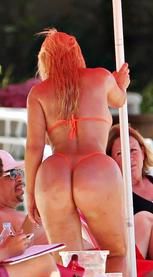 "Photos : Coco Austin : la femme d'Ice T invente le ""nu-kini"" !"