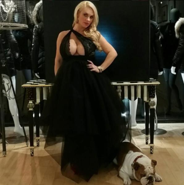 Coco Austin le 22 octobre 2015