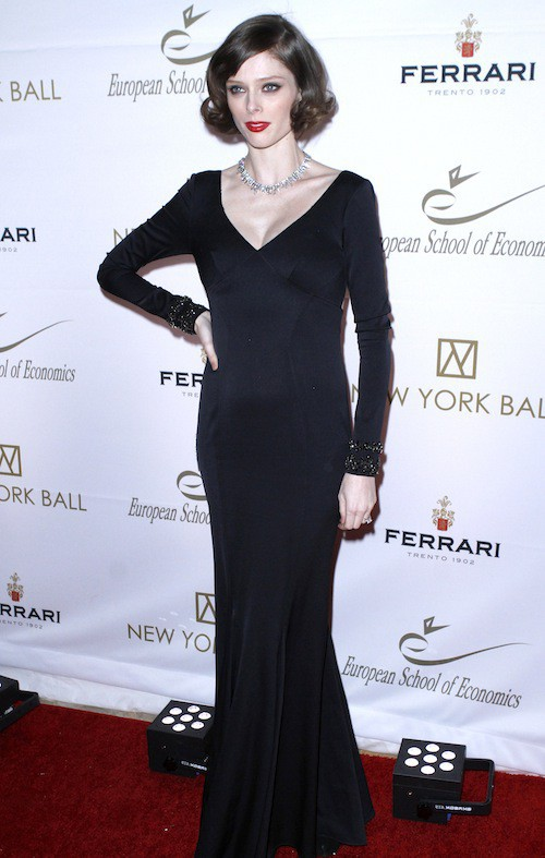 Coco Rocha au New York Ball, le 19 novembre 2014