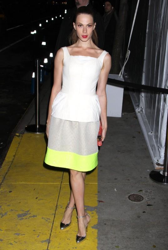 Elettra Wiedemann le 13 novembre 2012 à New York
