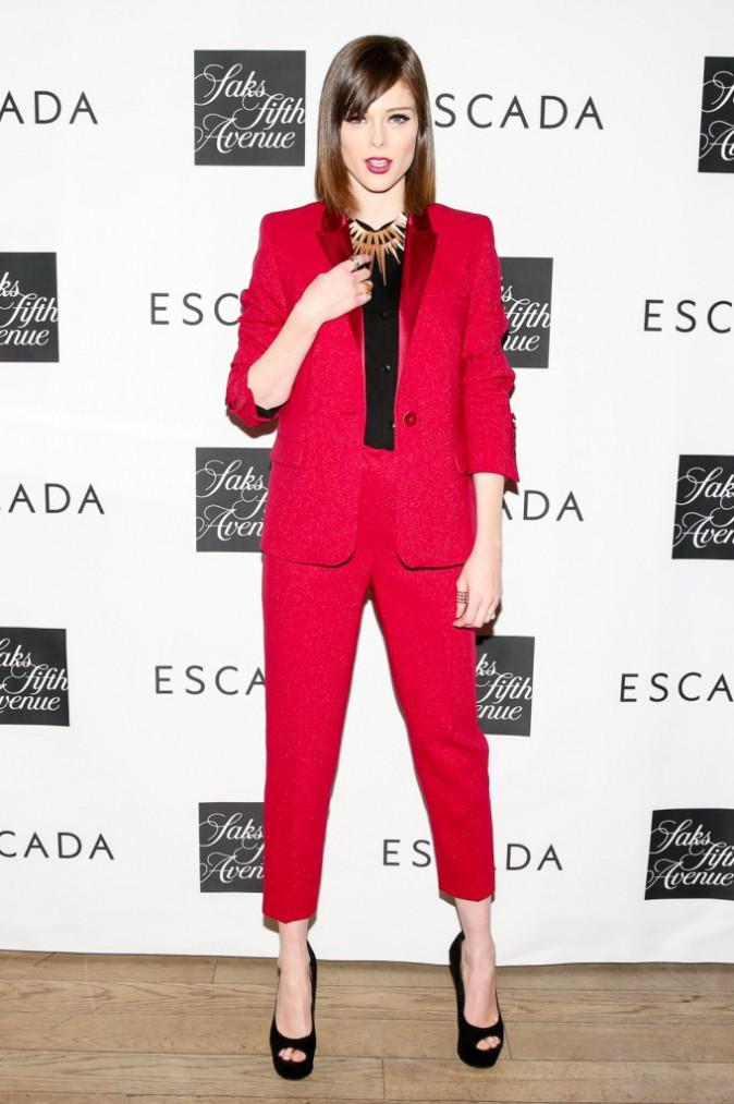 Coco Rocha le 3 février 2015
