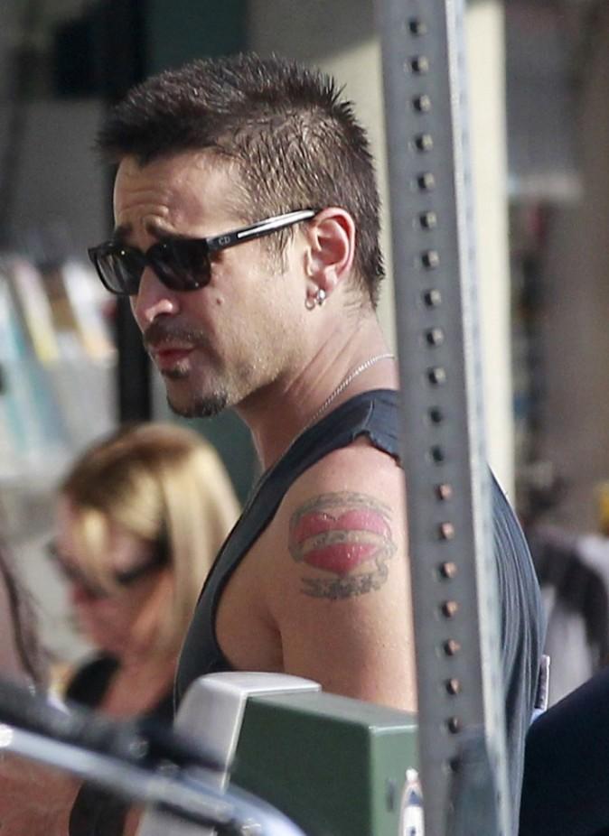 Colin Farrell à la sortie de son cours de Yoga, Los Angeles, 3 août 2012.