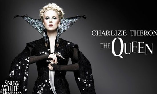 Charlize la méchante Reine !