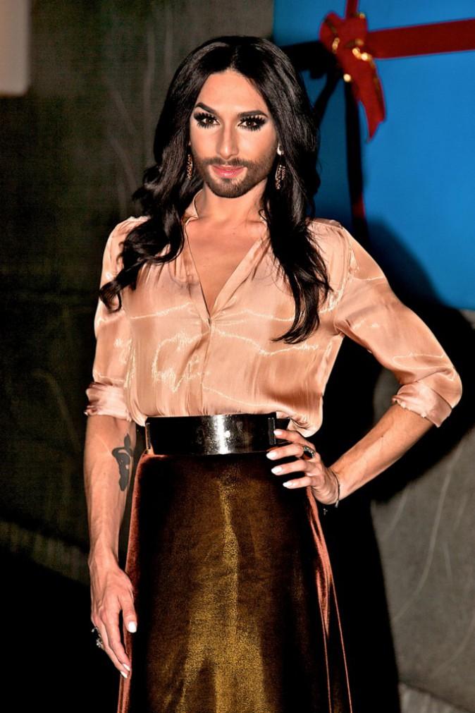 """Photos : Conchita Wurst : elle mettra fin à sa carrière """"avant d'avoir l'air d'une vieille drag queen !"""""""