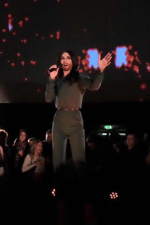 Photos : Conchita Wurst : une diva déjà prête pour l'Eurovision 2015 !