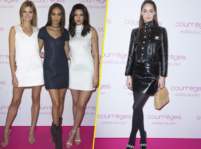 Photos : Constance Jablonski, Joan Smalls, Kendall Jenner, Marie-Ange Casta… Duels de tops à la soirée Courrèges !