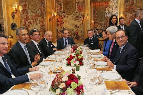 Photos : COP21 : François Hollande et Barack Obama : les détails de leur dîner trois étoiles !