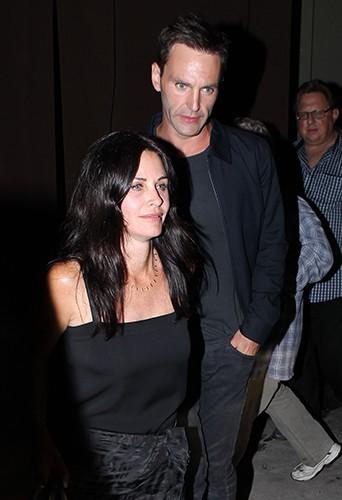 Courteney Cox et Johnny McDaid à Los Angeles le 25 juin 2014