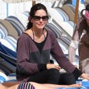 Courteney Cox le 18 novembre 2012 à Miami