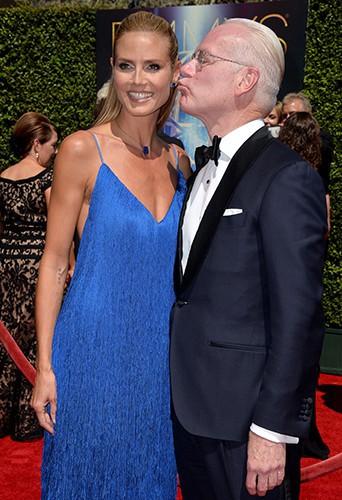 Heidi Klum et Tim Gunn à Los Angeles le 16 août 2014
