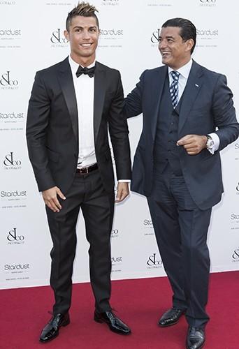 Cristiano Ronaldo à Monte Carlo le 4 juillet 2013