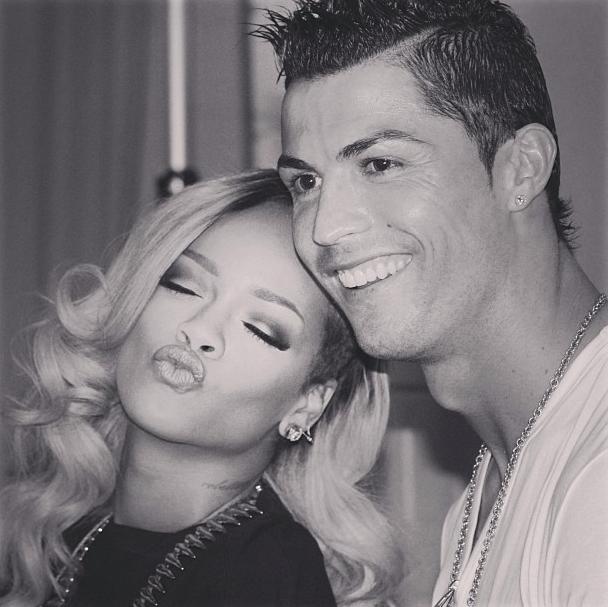 Rihanna et Cristiano Ronaldo, deux amis !
