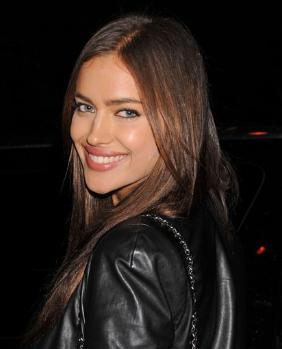 Irina Shayk lors de la première du film Dirty Girl à New York, le 3 octobre 2011.