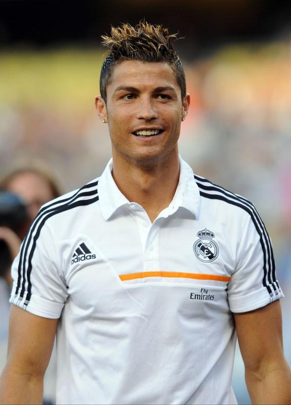 Cristiano Ronaldo s'essaie au base ball !