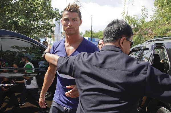 Cristiano Ronaldo en voyage à Bali