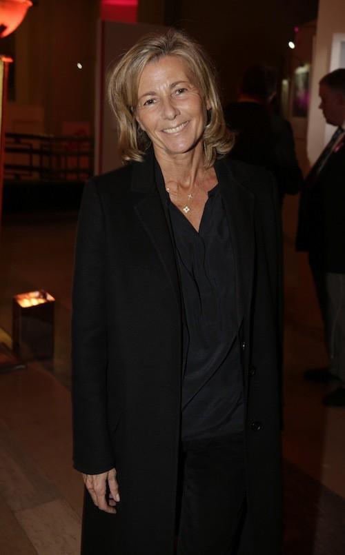 Claire Chazal à la soirée Octobre rose à Paris, le 7 octobre 2014