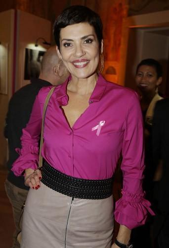 Photos : Cristina Cordula, Claire Chazal, Marie Gillain : toutes réunies pour Octobre rose !