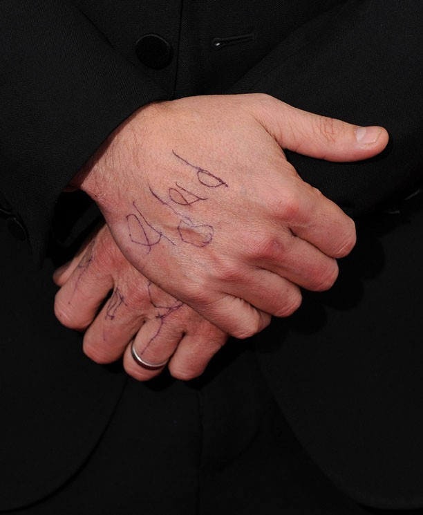 Ben Affleck à la cérémonie des Critics' Choice Awards à Los Angeles le 10 janvier 2013