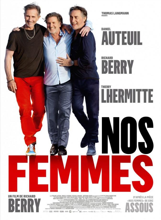 Culture buzz : cinéma : Nos femmes, de et avec Richard Berry et aussi Thierry Lhermitte et Daniel Auteuil (1h35).