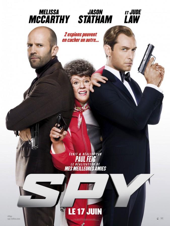 Ciné : Spy, de Paul Feig avec Melissa McCarthy, Jude Law et Jason Statham (2h00) : dîner avec Jude Law : en salles le 17/06/15