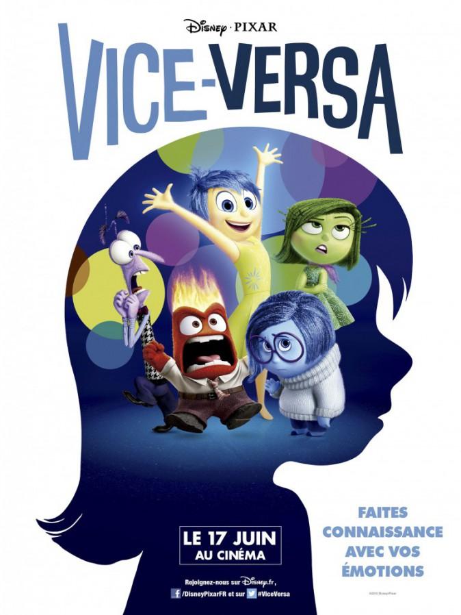 Ciné : Vice-Versa, de Pete Docter avec les voix de Charlotte Le Bon, Marilou Berry, Mélanie Laurent et Pierre Niney (1h34).