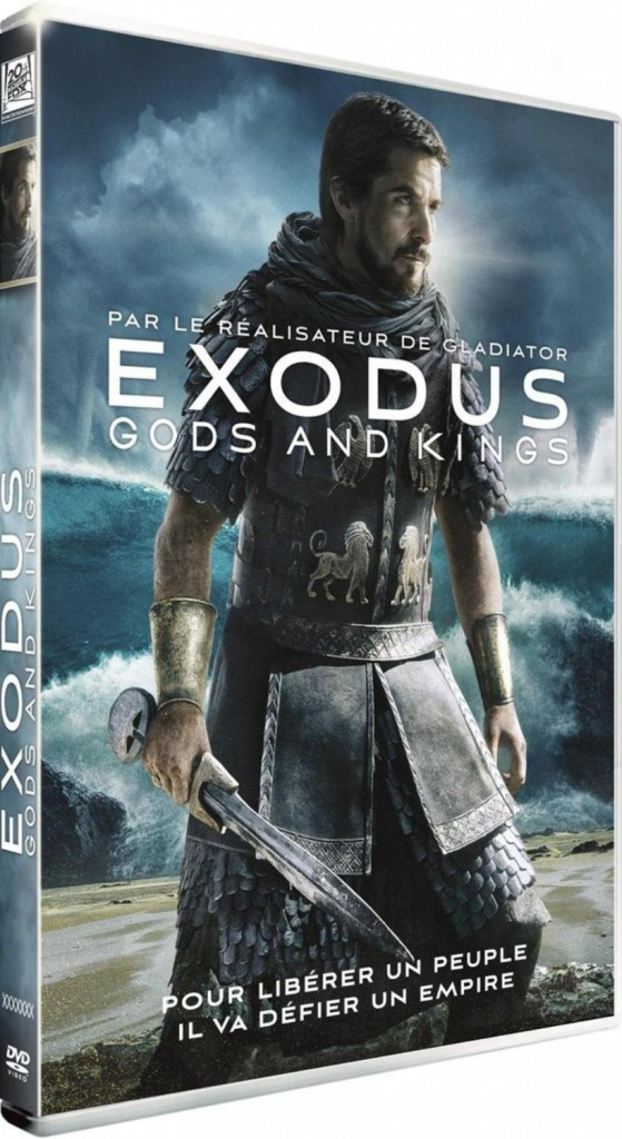 DVD : Exodus : Gods and Kings, avec Christian Bale et Sigourney Weaver, FPE. 19,99 €.