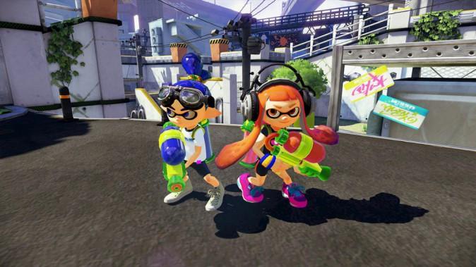 Jeu vidéo : Splatoon, Nintendo Wii U. 33,95 €. Coup de coeur de la rédac' !