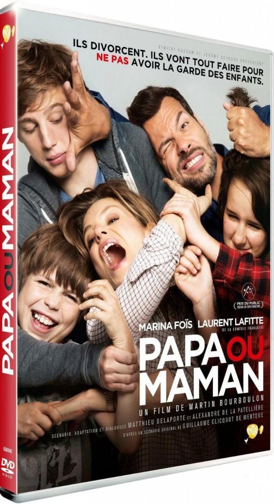 DVD : Papa ou Maman, de Martin Bourboulon avec Marina Foïs et Laurent Laftte, Fox. 19,99 € : coup de coeur de la rédac !