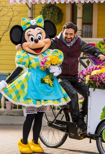 Photos : Cyril Hanouna, Chris Colfer, Maire-Ange Casta… ça sent le printemps à Disney !