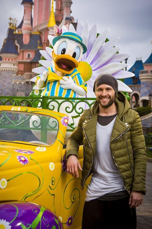 Yohan Cabaye fête le printemps à Disney