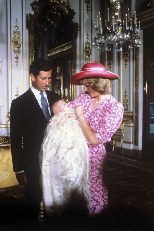 Lady Di, le prince Charles et William